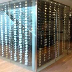 Glass Unlimited commercial wine room